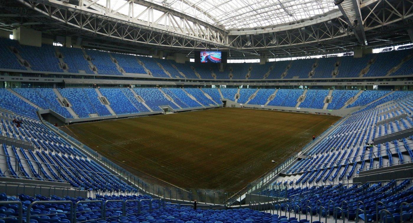 «Амкар» ─ первая команда РФПЛ, которая в этом сезоне проведет предматчевую тренировку на «Санкт-Петербурге» - фото