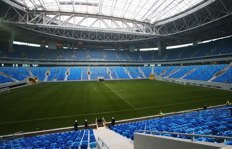 «Црвена Звезда» поздравила «Зенита» с новым стадионом - фото