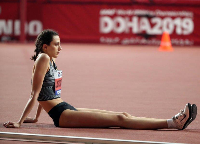 Ласицкене прыгнула на два метра после травмы. Будет ли золото в Токио? - фото
