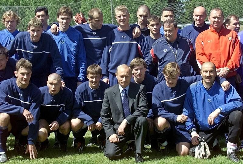Путин и сборная России 2002