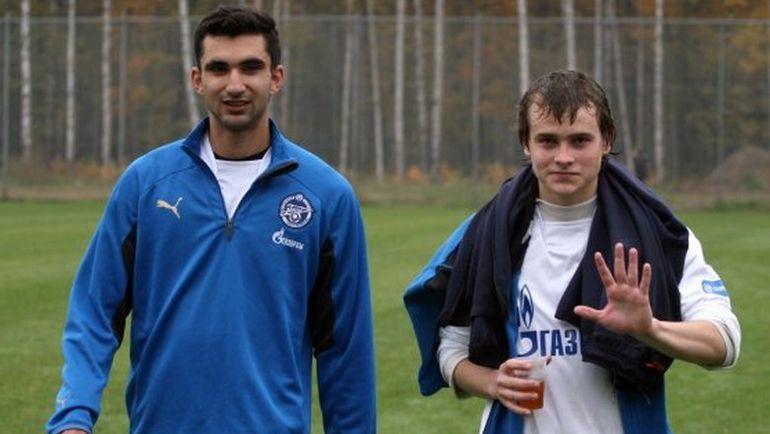 Басель Абдулфаттах и Павел Комолов
