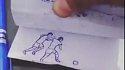 Как живой: болельщик воссоздал гол Месси на бумаге (ВИДЕО) - фото
