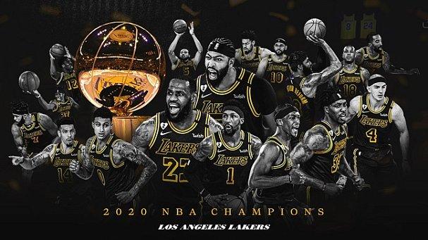 «Лейкерс» стали чемпионами НБА спустя 10 лет. В год гибели Кобе Брайанта - фото
