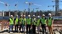 Студенты СПбГАСУ посетили стройплощадку «СКА Арены» - фото