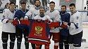 Игроки НХЛ и КХЛ поддержали незрячих хоккеистов из детской команды «Фортуна» - фото